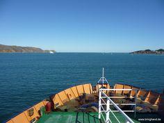 Auf der Fähre nach Picton.  #Fähre #Neuseeland #Tasmanien #Australien #Transport #Reisen #picton #wellington #ferry