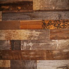 Brown Reclaimed Barn Wood Wall Panel-  (20 Sq Ft Reclaimed Barn Wood) by ChicagoFabrications
