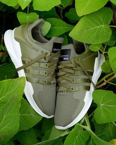 ★  ▄▀▄Shelly▄▀▄ ★  Adidas EQT Support ADV: Olive