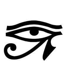 The Eye of Ra Like the Eye of Horus, this is an ancient magical symbol which is often used for protection. The Eye of Ra was painted or carved onto the boats of Egyptian fishermen in order to protect them from evil curses and harm. This symbol was also p Ancient Protection Symbols, Pagan Symbols, Symbols And Meanings, Egyptian Symbols, Ancient Symbols, Ancient Egypt, Protection Symbols Tattoo, Demon Symbols, Goddess Symbols