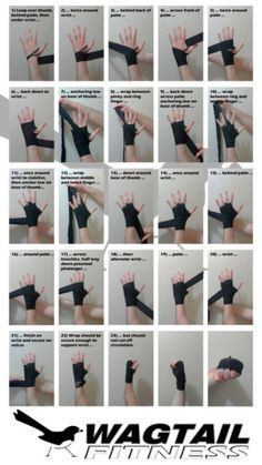 Martial arts - Short guide which outlines a fast and secure way to wrap the hands for boxing Good to know for when I start wrapping in kickboxing Boxe Fitness, Boxing Hand Wraps, Muay Thai Hand Wraps, Ju Jitsu, Useful Life Hacks, Mixed Martial Arts, Krav Maga, I Work Out, Self Defense