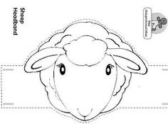 99 Creative Sheep Projects - Preschool {Sheep} Paper Hats