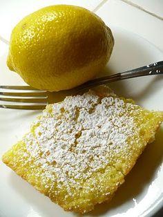 "Palmer's Deli lemon bars - This blogger loves the ""sugar-cookie-like crust"" and soft lemony inside!"