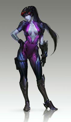 ArtStation - Widowmaker Fanart (Overwatch), Knight Zhang