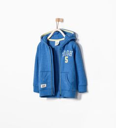 ZARA - KIDS - HOODED SWEATSHIRT - Baby Boys