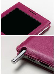 Cover Professional Elegance Galaxy Note 3 Window Flip