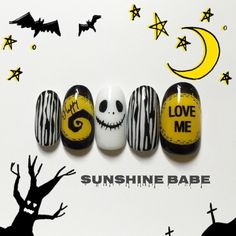 Sunshine Babe Nails