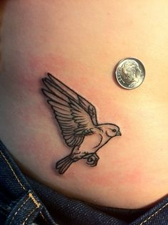 Tattoo Paradise- bitty bird...what i wouldnt give if this were an owl tho:3