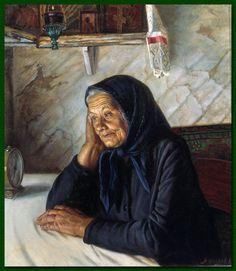 Александр Шилов. В ожидании, 1982