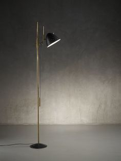 From Nilufar Gallery, Gino Sarfatti, Rare prototype floor lamp mod. 1054 (ca. Cool Lighting, Floor Lamp, Artsy, Mid Century, Design, Home Decor, Vintage, Collection, Decoration Home