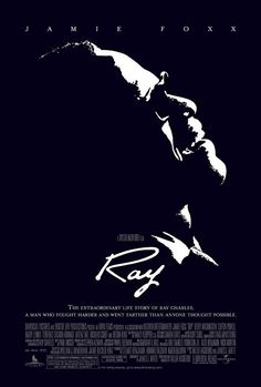 Ray is a 2004 biographical film focusing on 30 years[2] of the life of rhythm and blues musician Ray Charles. The independently produced film was directed by Taylor Hackford and starred Jamie Foxx in the title role; Foxx received an Academy Award for Best Actor for his performance.