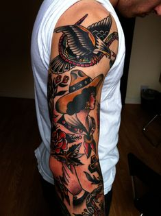traditional tattoos =)