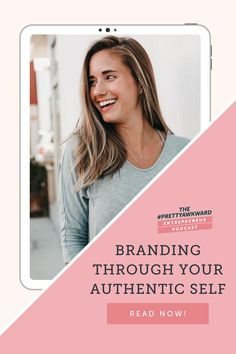 This week on the #PrettyAwkward Entrepreneur Podcast, I'm diving into how you can utilize your true authentic self as your personal branding. If you are struggling with taking rejections and failures personally, you'll definitely want to check this out to begin stepping into your authentic self for the success of your branding. | BUSINESS COACHING TIPS | PERSONAL BRANDING | ENTREPRENEUR MINDSET | Learn more with Megan Yelaney - Business Coach Sales Strategy, Content Marketing Strategy, Advertising Strategies, Marketing Tools, Business Marketing, Media Marketing, Business Tips, Online Business, Business Coaching