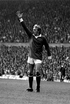 Denis Law -league-division-one-manchester-united-v-west-ham-united- Manchester United Legends, Manchester United Football, World Football, School Football, Denis Law, Top Soccer, Football Hall Of Fame, Wayne Rooney, Best Club