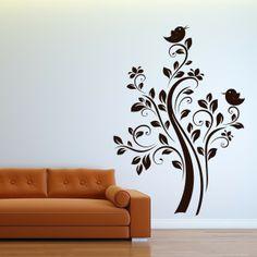 Nature Wall Art | Home / Birds On Tree Wall Sticker Nature Wall Art #wallarts #wallstickers