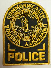 Virginia Commonwealth University Virginia Police Patch