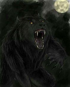 Yet another werewolf by FlobbyBobby on DeviantArt Dark Fantasy Art, Dark Art, Fantasy Creatures, Mythical Creatures, Wolf Hybrid, Werewolf Art, Vampires And Werewolves, Creatures Of The Night, Horror Art