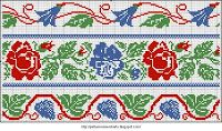 Free Easy Cross, Pattern Maker, PCStitch Charts + Free Historic Old Pattern Books: Embroidery Drawings - Issue 1 1938 вышивок рисунки - выпу...