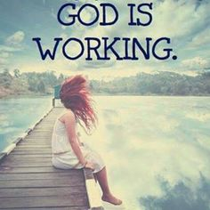 God is working within us even if we can't see Him or feel Him near. We can't rely on what we see or how much we feel Him. We must learn to rely on our faith in God and that He had our backs and always answers prayer><> Bible Verses Quotes, Faith Quotes, Trust In God Quotes, Praise God Quotes, Heart Quotes, Scripture Verses, Religious Quotes, Spiritual Quotes, Healing Quotes