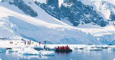 Cruise destinations:Antarctic