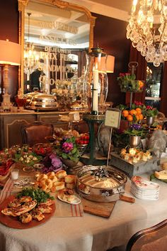 Ordinaire Romancing The Home Catering Display, Catering Ideas, Christmas Buffet  Tablescapes, Christmas Tables,