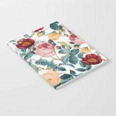 Vintage garden VI Notebook