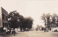 RP: Main Street[dirt] , Labor Day , RED GRANITE , Wisconsin ,00-10s