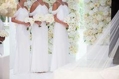 Photographer: Melissa White Tie Wedding, Green Wedding, Kc Events, Kansas City Wedding, Vera Wang Dress, Bridesmaid Dresses, Wedding Dresses, Ceremony Decorations, Event Venues