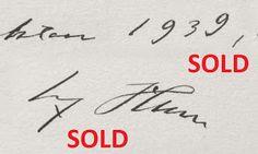 1927 MEIN KAMPF ADOLF HITLER 1ST EDITION VOL. 2 AUTOGRAPH SIGNATURE PRICE $8999