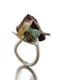 Catalina Brenes ring  - at SIERAAD International Jewellery Art Fair 2013