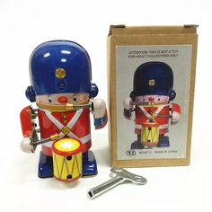 Cheap clockwork wind up, Buy Quality tin toys robot directly from China toy tin robots Suppliers: Classic collection Retro Clockwork Wind up Metal Walking Tin brass military band robot toy Mechanical toys kids christmas gift Classic Ro, Kids Electronics, Tin Toys, Christmas Gifts For Kids, Classic Collection, Robot, Plush, Military, Retro
