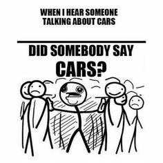 Car guys, car girls, car humor, car meme