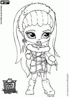 Coloring pages of one direction one direction comic by Monster High Abbey Coloring Pages Coloring Pages Mia Monster High Abby Coloring Pages