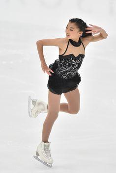 Kaori Sakamoto Photos Photos - Kaori Sakamoto of Japan competes in Ladie's Short Program during the 83rd All Japan Figure Skating Championships at the Big Hat on December 27, 2014 in Nagano, Japan. - 83rd All Japan Figure Skating Championships - Day 2