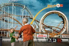 "McDonald's ""Make a deal"" ad: Roller coaster (by DDB South Africa)"