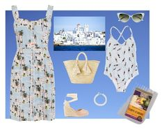 """""""Vacanze a Paros"""" by oritteropa on Polyvore featuring moda, Emily and Fin, Castañer e Giselle"""