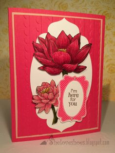 I'm Here For You…  Stampin' Up Occasions Mini 2014, People Like You, Stampin Write markers, Four Frames, Decorative Label punch, Petite Pairs, Apothecary Accents dies, Scallops Texture Impressions embossing folder.