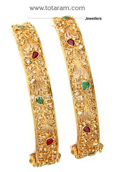 Totaram Jewelers Online Indian Gold Jewelry store to buy Gold Jewellery and Diamond Jewelry. Buy Indian Gold Jewellery like Gold Chains, Gold Pendants, Gold Rings, Gold bangles, Gold Kada Indian Gold Jewellery Design, Gold Bangles Design, Jewelry Design, Designer Bangles, Gold Bangles For Women, Silver Bracelets, Silver Ring, Diamond Jewelry, Gold Jewelry