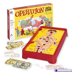 Operation, my favorite game ~ now I know why.. This blog has other great toys