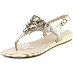 Franco Sarto Women's Galileo Thong Sandals * Trust me, this is great! Click the image. : Women's Flats Sandals
