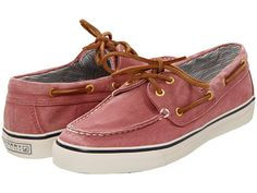 Sperry Top-Sider Bahama 2-Eye Washed Red Salt/Washed Canvas - Zappos.com Free Shipping BOTH Ways