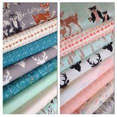 Hello Bear fabric bundle by Bonnie Christine for от fabricshoppe