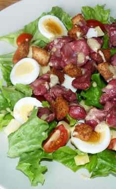 Easy Salads, Healthy Salad Recipes, My Recipes, Clean Eating, Healthy Eating, Poultry, Entrees, Food Porn, Food And Drink