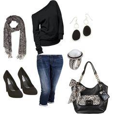 """Grace Adele - Black Ocelot Outfit"