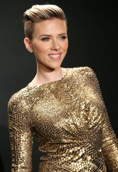 Scarlett Johansson Photos: Tom Ford Autumn/Winter 2015 Womenswear Collection Presentation - Arrivals
