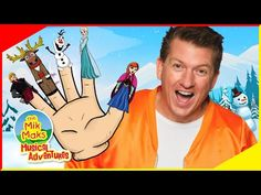Frozen Finger Family Song | Kids Songs and Nursery Rhymes | The Mik Maks - YouTube
