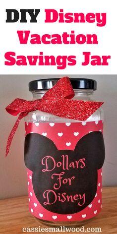 35 trendy how to save money for kids disney vacations Wine Bottle Crafts, Mason Jar Crafts, Mason Jar Diy, Vacation Savings, Vacation Packing, Packing Tips, Vacation Ideas, Savings Jar, Money Jars