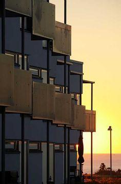 Sæby Strand - social housing  C.F. Møller. Photo: Thomas Mølvig