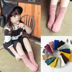 1.11$  Watch now - Solid Candy Colorful Baby Socks Cotton Short Boys Girls Classic Leg Warmers Child Anti Slip Boots Ankle Knee Sport Socks   #buyininternet