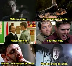 mais sobrenatural no link The Effective Pictures We Offer You About Funny Quotes lol A quality picture can tell you many things. You can find the most beautiful pictures that can be presented to you a Dean Winchester, Dean Castiel, Funny Quotes Tumblr, New Funny Memes, Teen Wolf Memes, Supernatural Tumblr, Supernatural Cast, Destiel, Funny School Stories